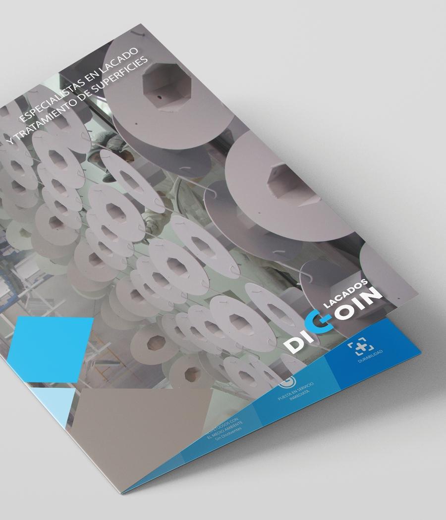 Diseño de gráfica publicitaria para Lacados Digoin