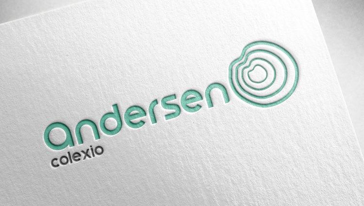 Branding y aplicaciones graficas Colexio Andersen