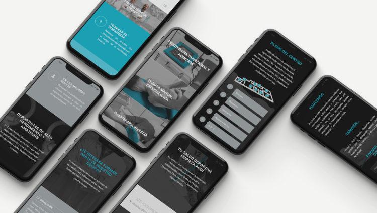 Diseño gráfico y desarrollo web de Sannus Clinnic