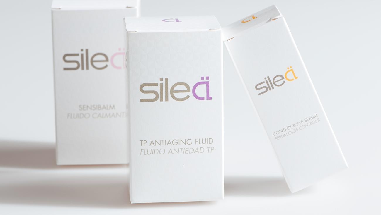 Packaging y equitetas hechas para Silea