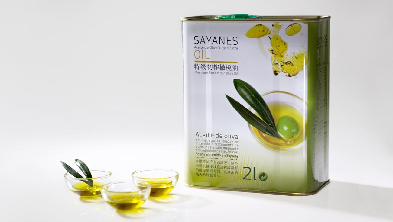 Diseño de packaging y etiquetas para Sayanes Oil