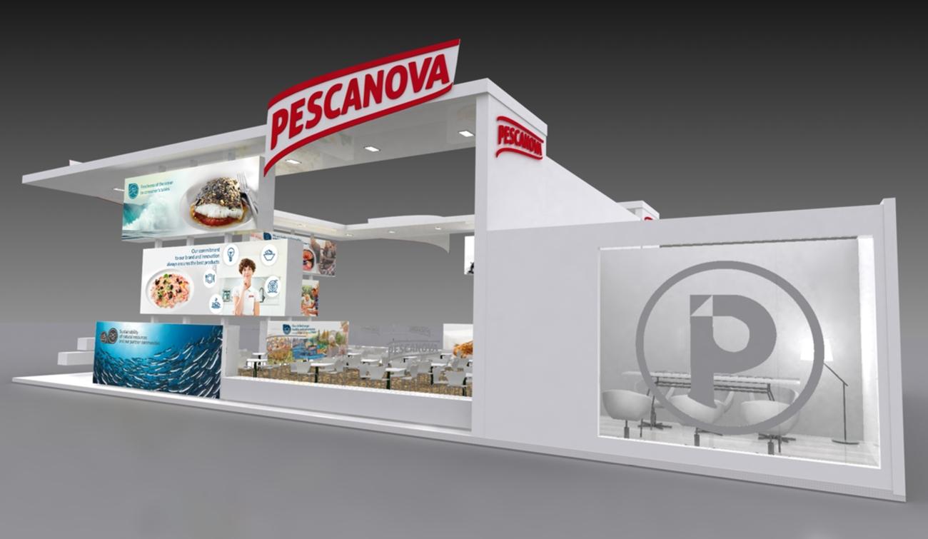 Grafica comercial Stand Pescanova
