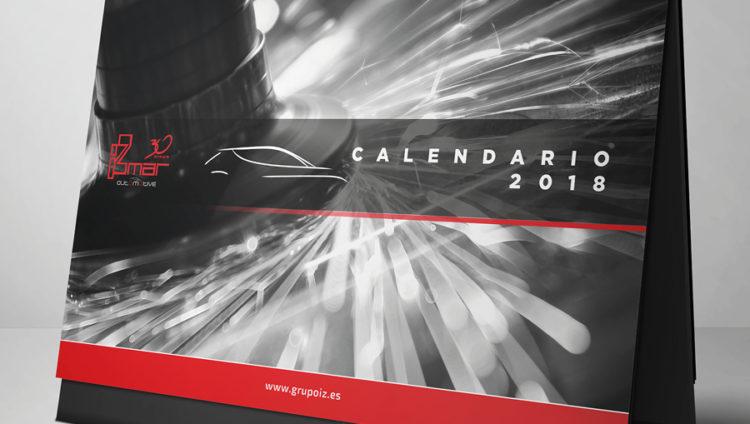 Diseño Calendario Izmar