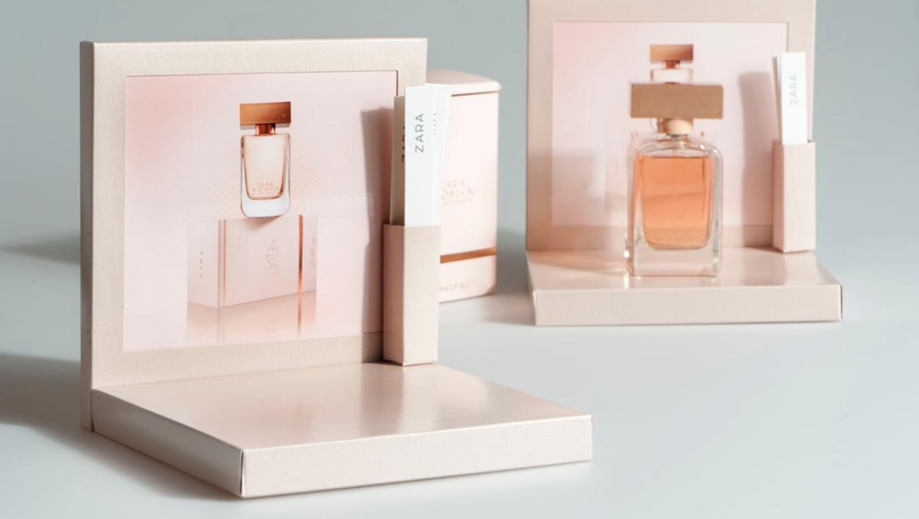 Display testers perfumes zara