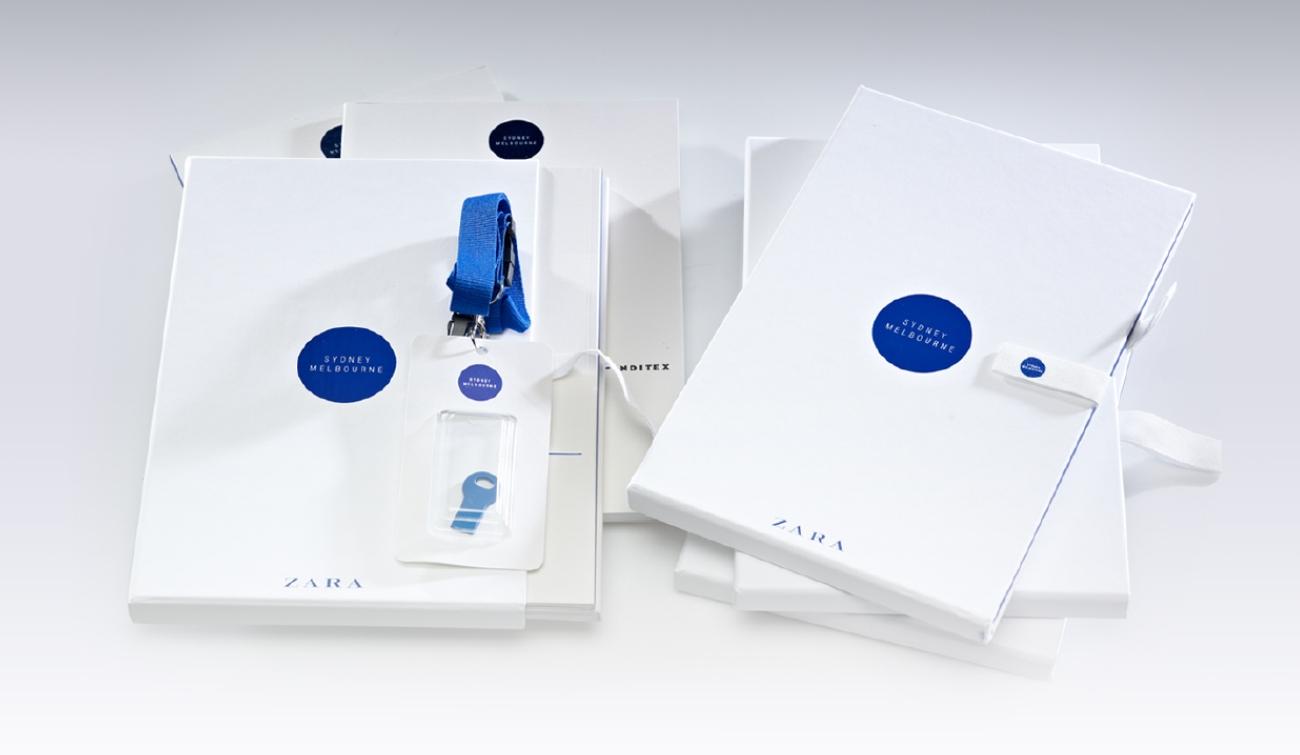 Diseño Editorial y Packaging Zara