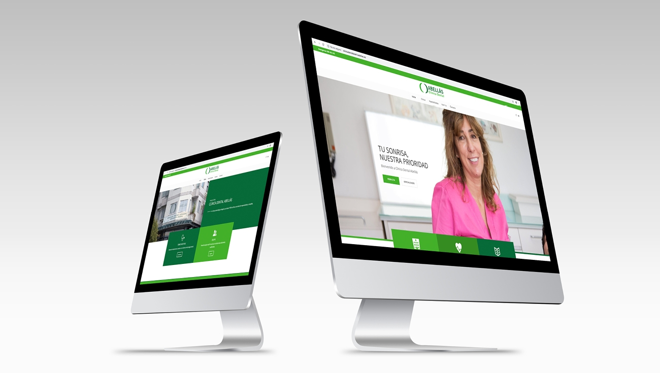 web clinica dental beatriz abellas
