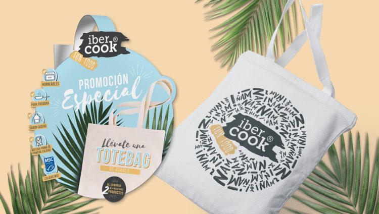 Gráfica promocional nueva línea de aperitivos Ibercook Fun Food